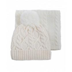 Комплект зимний Кроха (шапка+снуд)